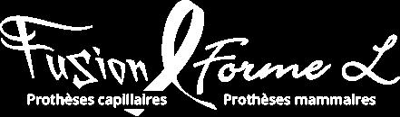 Logo de Fusion Forme-L, prothèses mammaires et prothèses capillaires